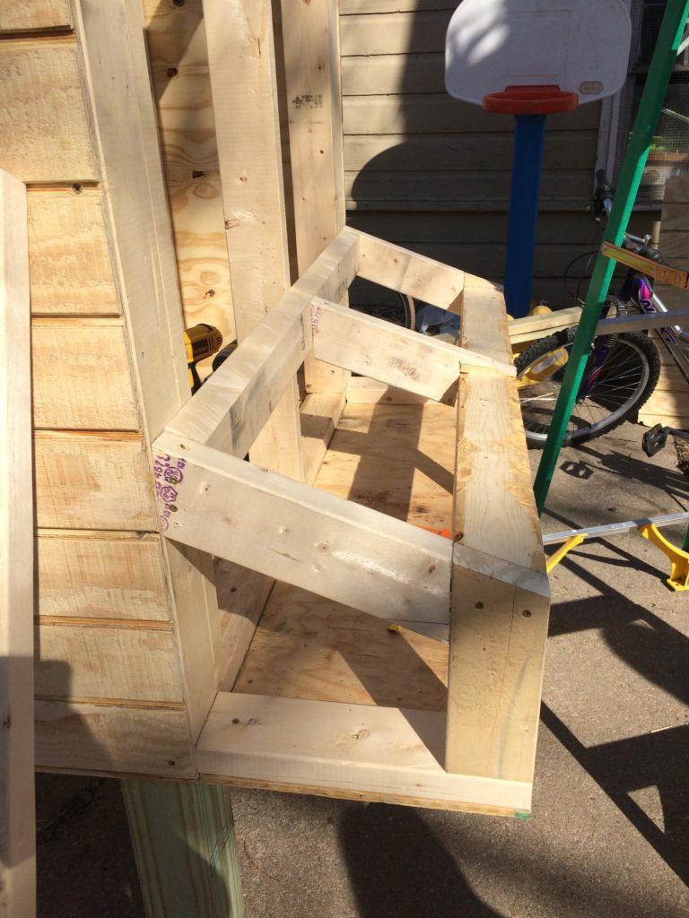 Framing a nest box