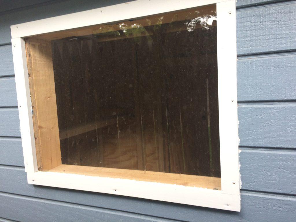 Chicken coop window